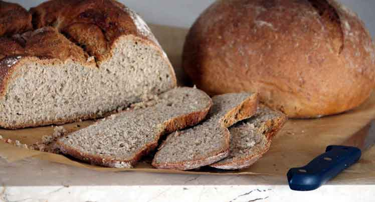 Broodschotel met Appelmoes